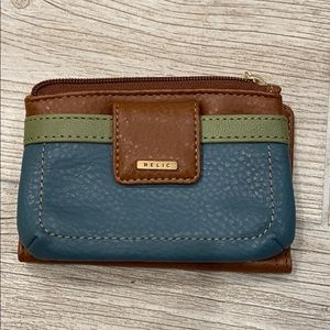 Relic Natural Color Wallet